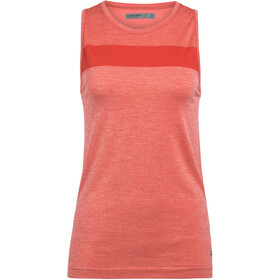 Icebreaker Motion Seamless Tanktop Dames, fire heather